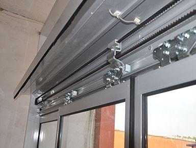 铝型材自动感应门