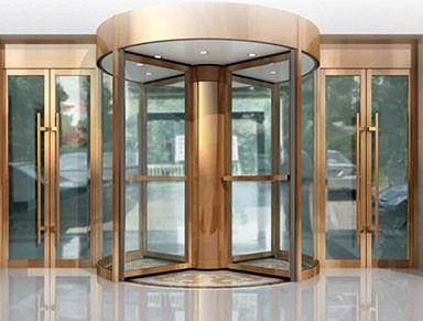 WZ系列三/四翼围柱自动旋转门
